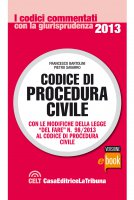 Codice di procedura civile commentato - Francesco Bartolini, Pietro Savarro