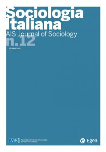 Copertina di 'Sociologia Italiana - AIS Journal of Sociology n. 12'