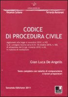 Codice di procedura civile - De Angelis Gian L.