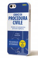 "LibreriadelGiurista.it - Cover Iphone 5 ""Codice Procedura Civile"" Mod. A"