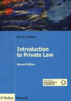 Introduction to private law - Sirena Pietro