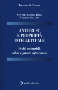 Copertina di 'Antitrust e proprietà intellettuale. Profili sostanziali, public e private enforcement'