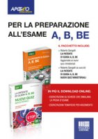 La patente di guida A, B, BE . Kit manuale + quiz. Con Contenuto digitale per download e accesso on line - Sangalli Roberto