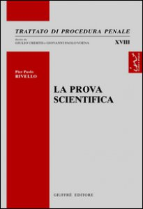 Copertina di 'La prova scientifica'