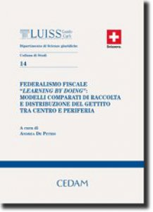 """Copertina di 'Federalismo fiscale """"learning by doing""""'"""