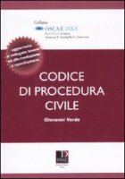 Codice di procedura civile - Verde Giovanni