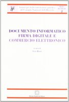 Documento informatico. Firma digitale e commercio elettronico