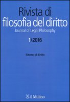 Rivista di filosofia del diritto. Journal of Legal Philosophy (2016)