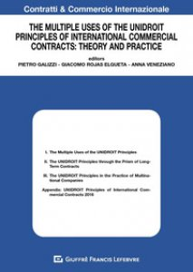 Copertina di 'The multiple uses of the unidroit principles of international commercial contracts: theory and practice'