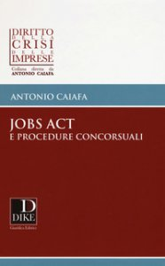 Copertina di 'Jobs act e procedure concorsuali'