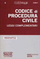 Codice di procedura civile. Leggi complementari. Ediz. minor