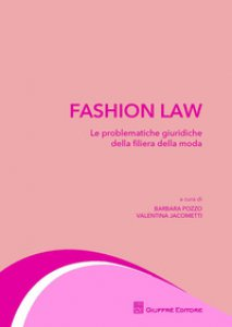 Copertina di 'Fashion law'