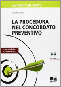 Copertina di 'La procedura nel concordato preventivo. Con CD-ROM'