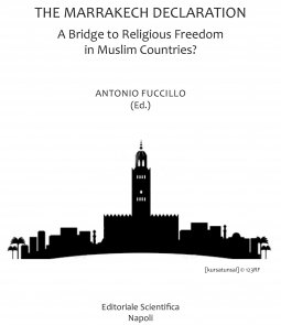 Copertina di 'The Marrakech declaration. A bridge to religious freedom in Muslim countries?'