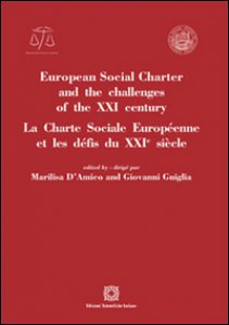 Copertina di 'European social charter and the challenges of the XXI century'