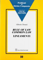 Rule of law common law - Donati Alberto