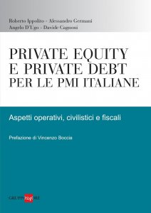Copertina di 'Private equity e private debt per le PMI italiane'