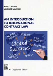 Copertina di 'An introduction to international contract law'