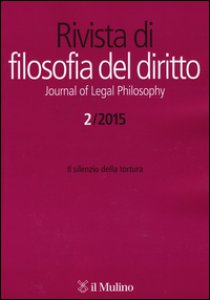 Copertina di 'La Rivista di filosofia del diritto-Journal of Legal Philosophy (2015)'