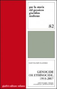 Copertina di 'Genocide or ethnocide, 1933-2007. How to make, unmake, and remake law with words'