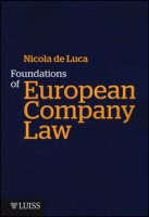 Foundations of European Company Law - De Luca Nicola